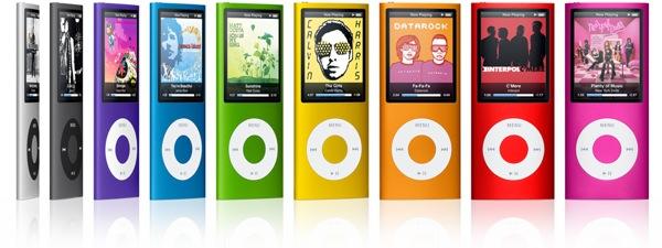 Jaunais iPod nano izstiepies garumā