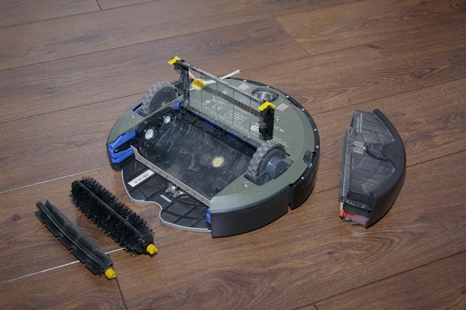 Tests: iRobot Roomba 560