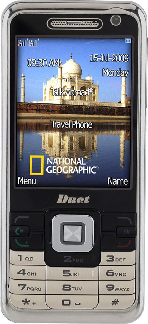 National Geographic izgudro mobilo telefonu