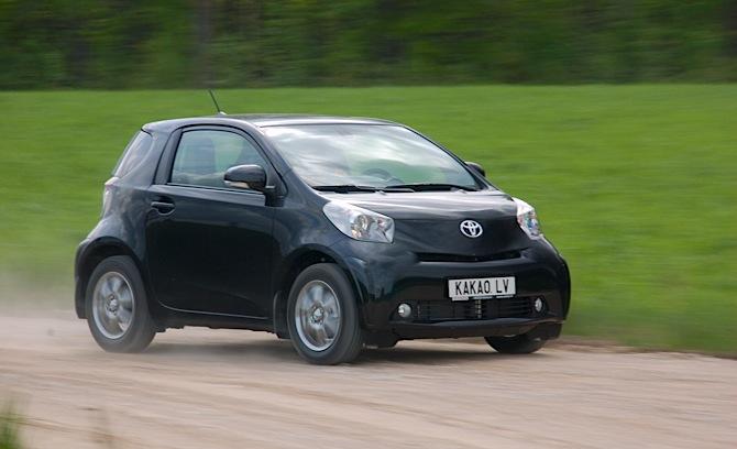 Tests: Toyota IQ
