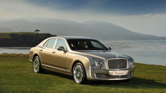 Bentley Mulsanne - jaunais britu flagmanis