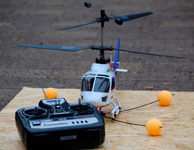 Tests: radiovadāmais helikopters E-Sky Big Lama